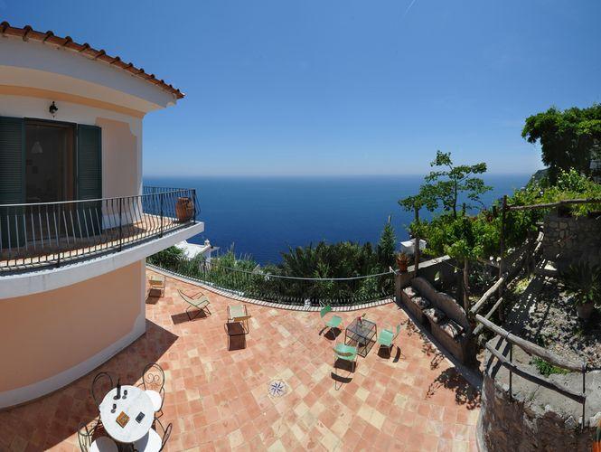 Villa Le Terrazze di San Tommaso Praiano Amalfi Coast - 5km from ...